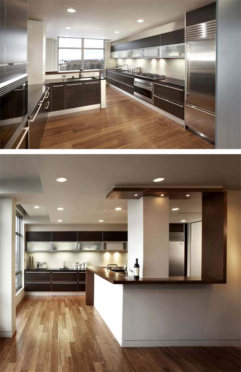 loft design kitchen blur - Blur Loft: Flexible Spaces