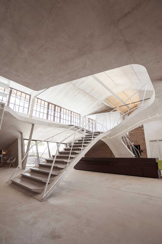 Futuristic Loft Design