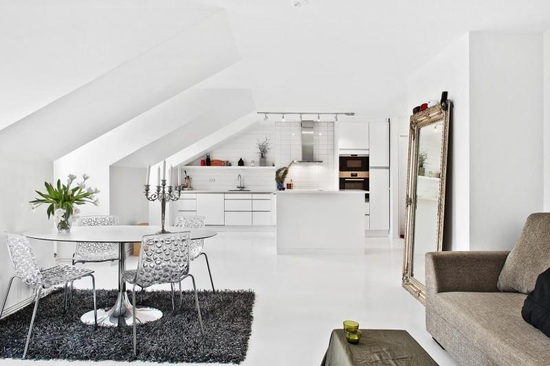 loft penthouse design esny 800x532 - Södermalm loft: Diminutive Penthouse