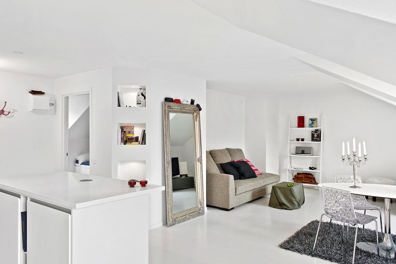 S 246 Dermalm Loft Diminutive Penthouse Loft Design