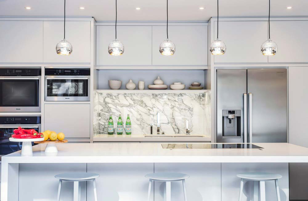 london townhouse kitchen design - Highgate Hill Townhouse