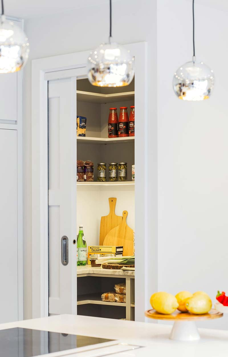london townhouse kitchen pantry - Highgate Hill Townhouse