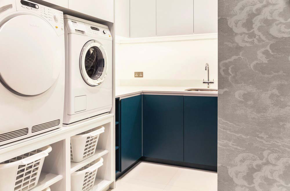 london townhouse laundry room - Highgate Hill Townhouse