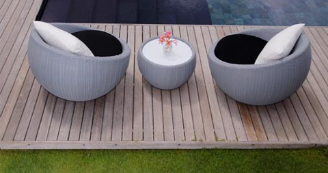 Circle Chair Garden Patio