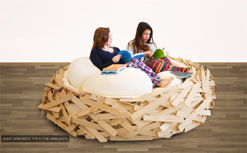 Giant Birdsnest: Lounge In Nature