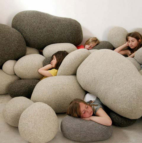 Livingstones: Soft Rock Cushions | Busyboo