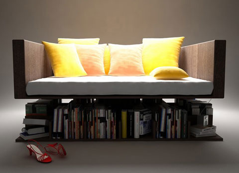 lounge storage sofa ransa - Ransa Sofa: for the tired intellectual