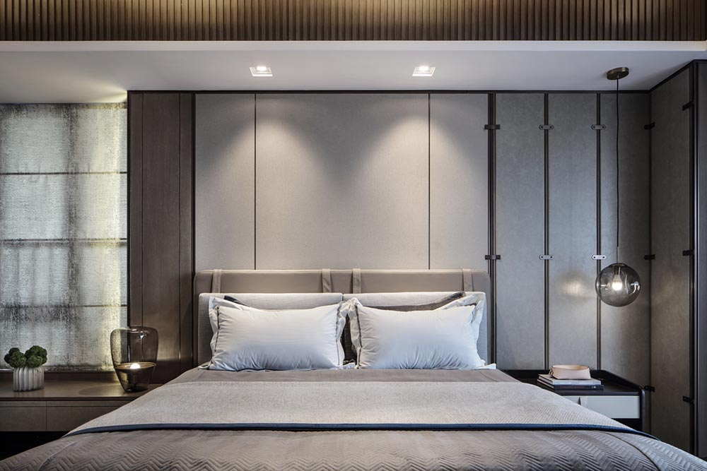 luxury apartment interior design bedroom ccd - Mangrove Bay Residence