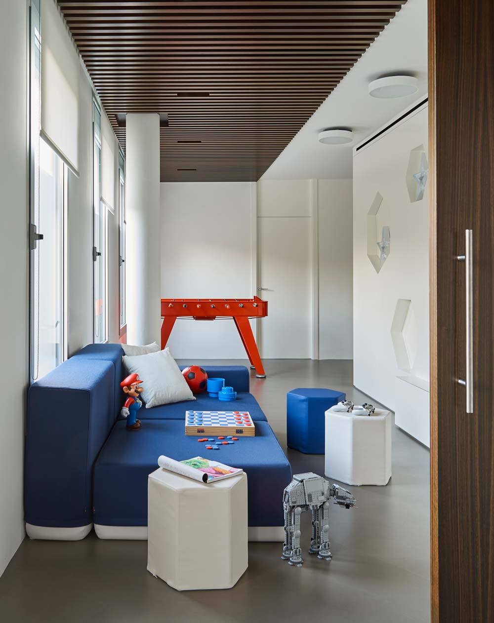 luxury home playroom design - Valles House