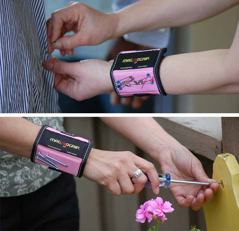 Accessories - MagnoGrip Magnetic Wristband: Handy - Busyboo