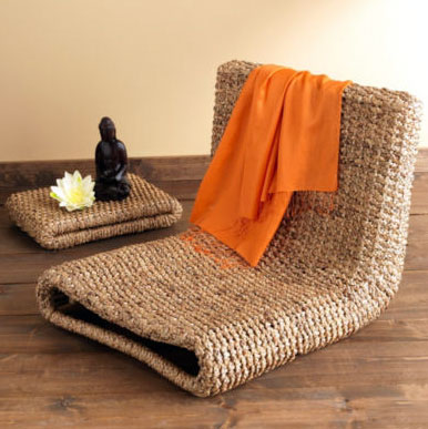 Water Hyacinth Chair Simplicity And Elegance For The Mind