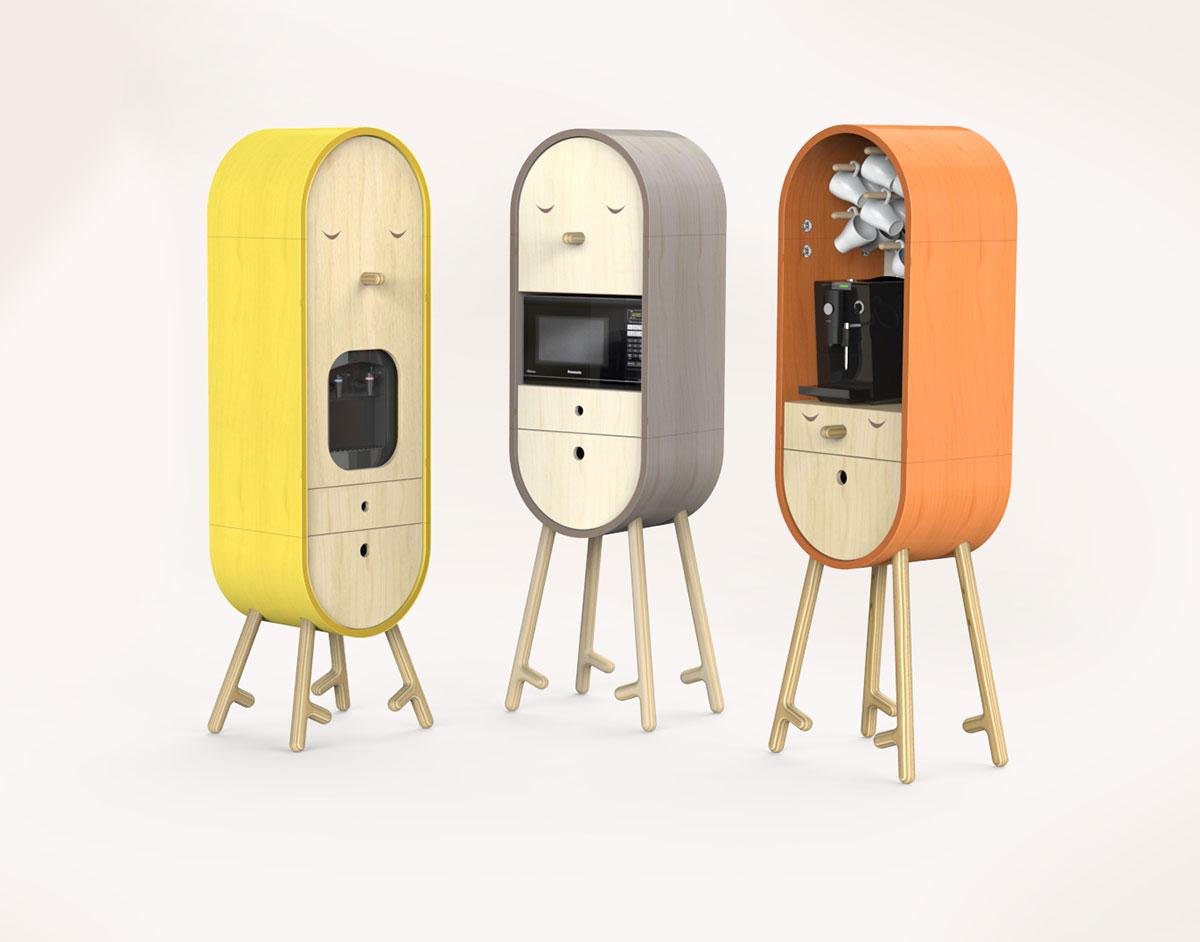 LOLO The Capsular Micro kitchen Kitchen Design