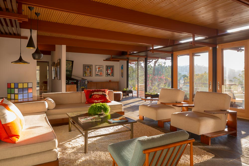 mid century modern home anx3 - Sycamore House