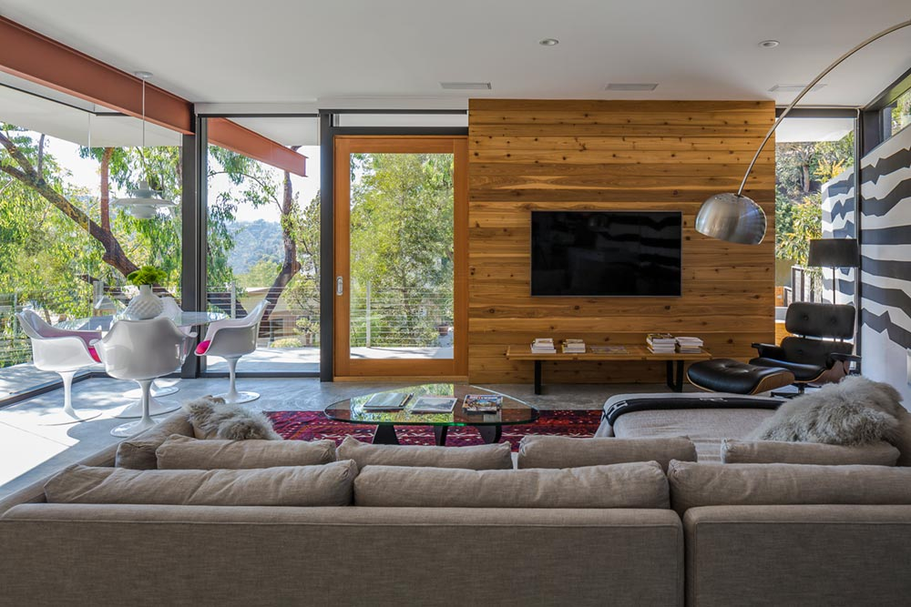 mid century modern home anx6 - Sycamore House