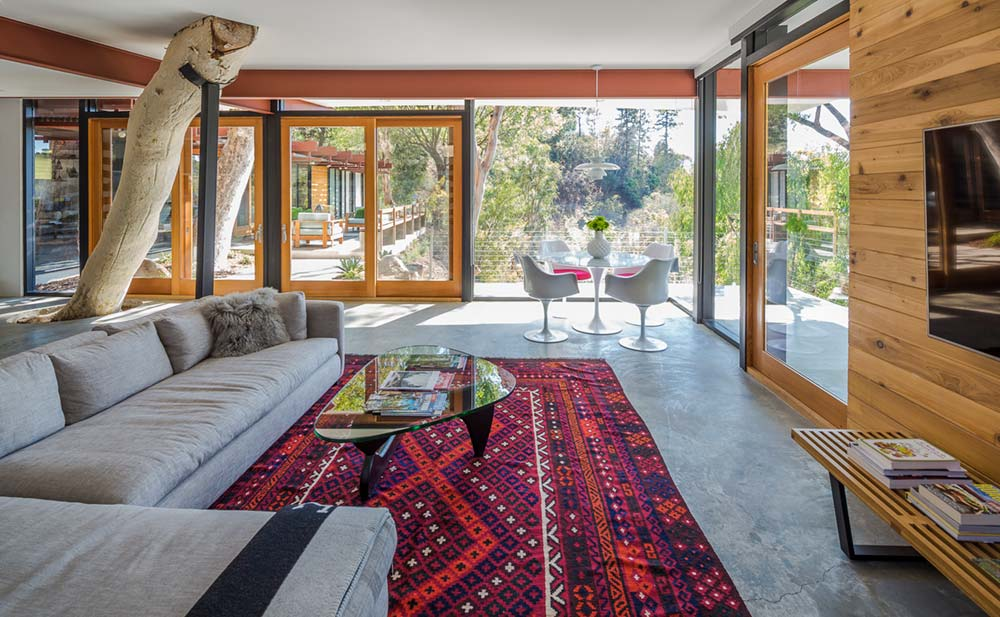 mid century modern home anx7 - Sycamore House