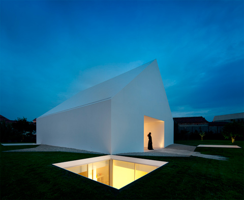 House in Leiria: a minimal white house & House in Leiria: a minimal white house - Modern Architecture