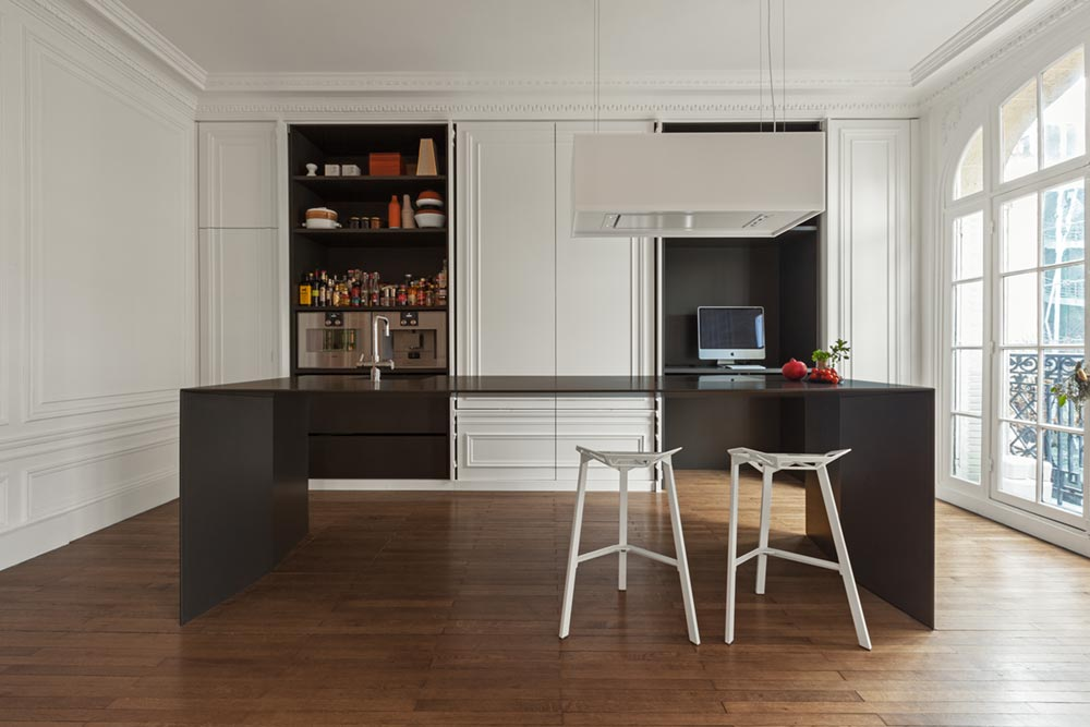 minimal kitchen design i292 - Invisible Kitchen