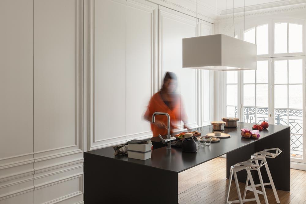minimal kitchen design i293 - Invisible Kitchen