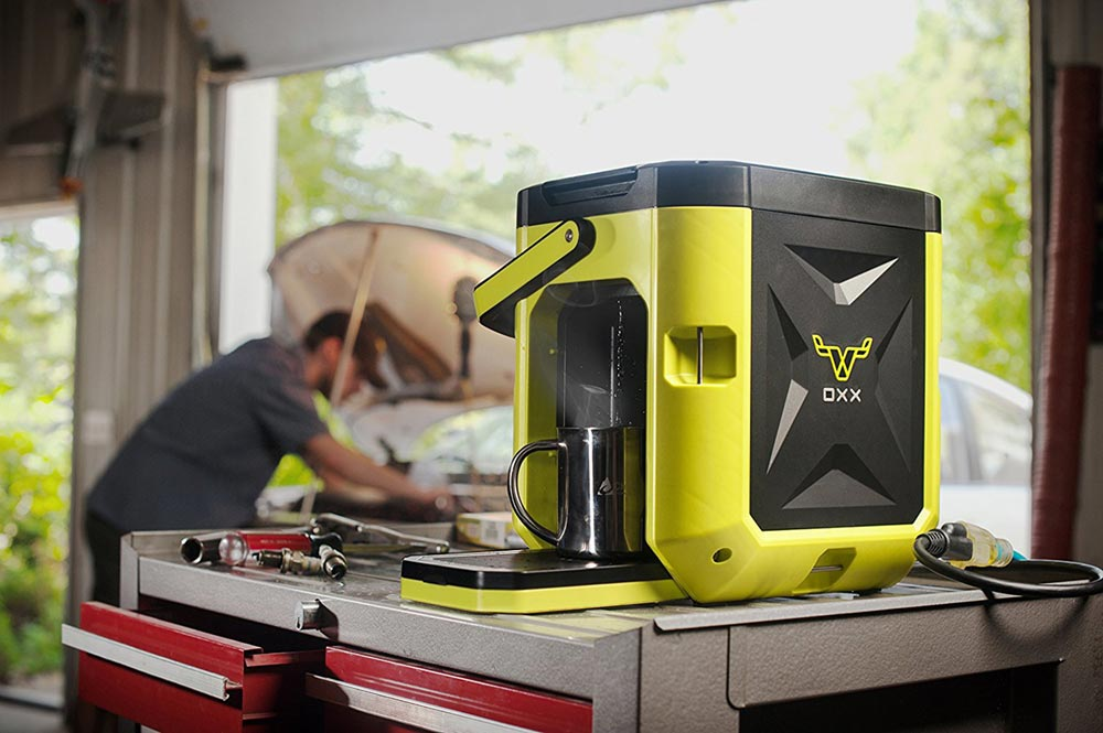 mobile coffee maker coffeeboxx 1 - OXX Coffeeboxx