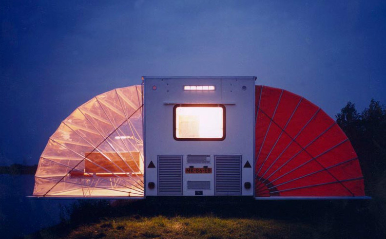 Markies: A Winged Mobile Home - Travel Trailers