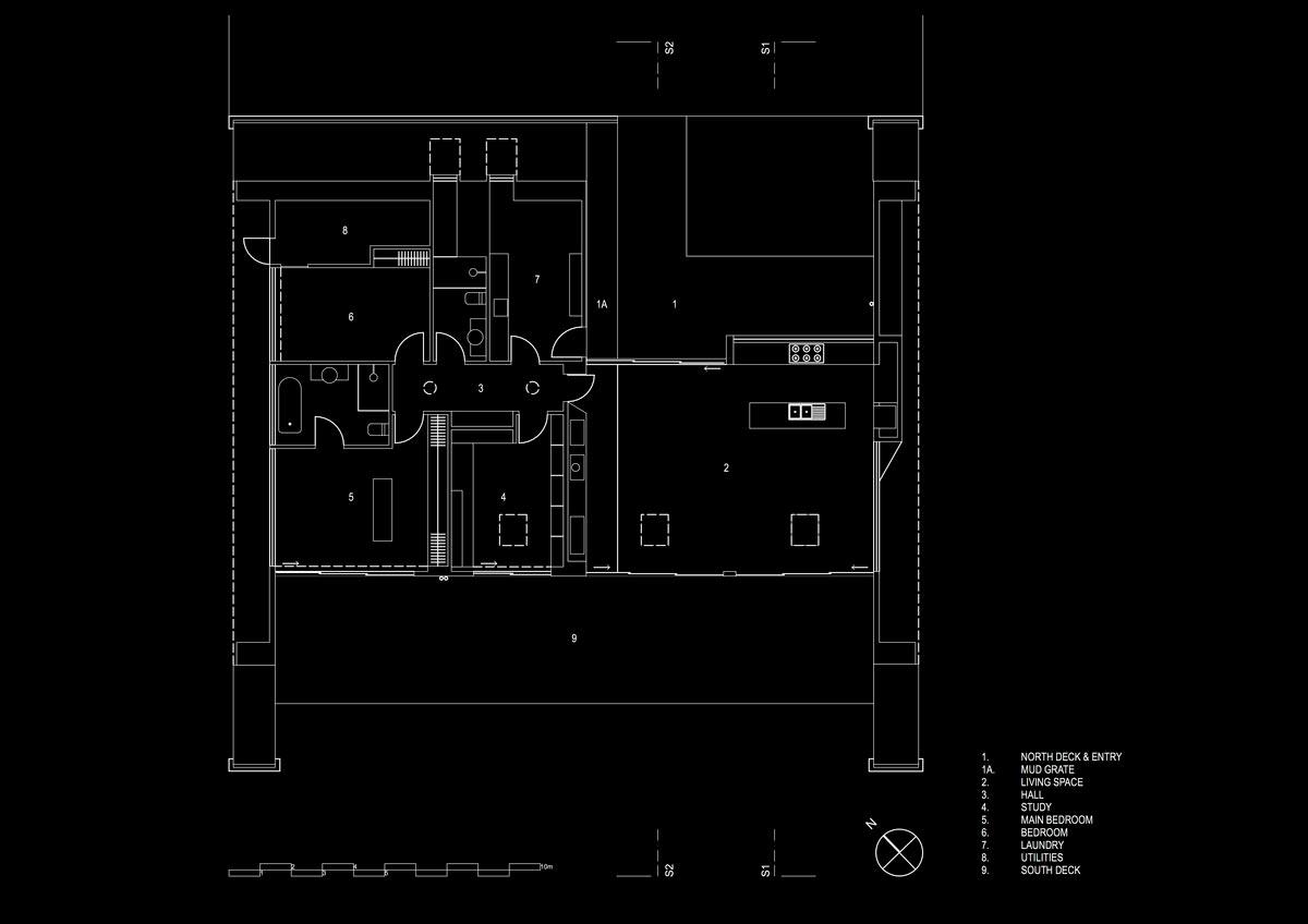 modern a frame house plan ab - Tucks Ridge House