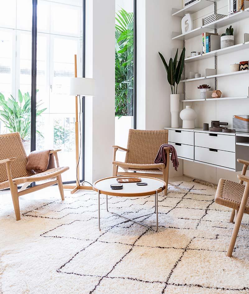 modern apartment design living 1 - Argentona Apartment