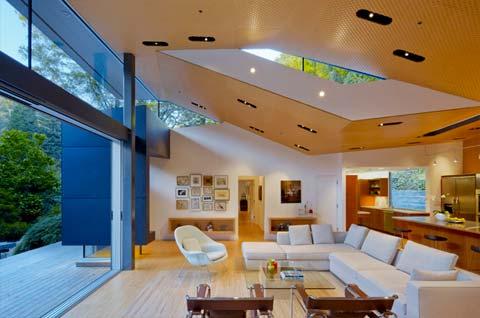 modern architecture ross 5 - Ross Residence: folded geometries