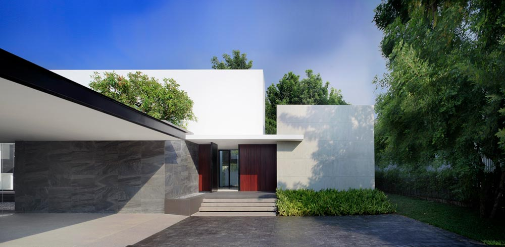 modern architecture thailand aad1 - Lakeside Residence
