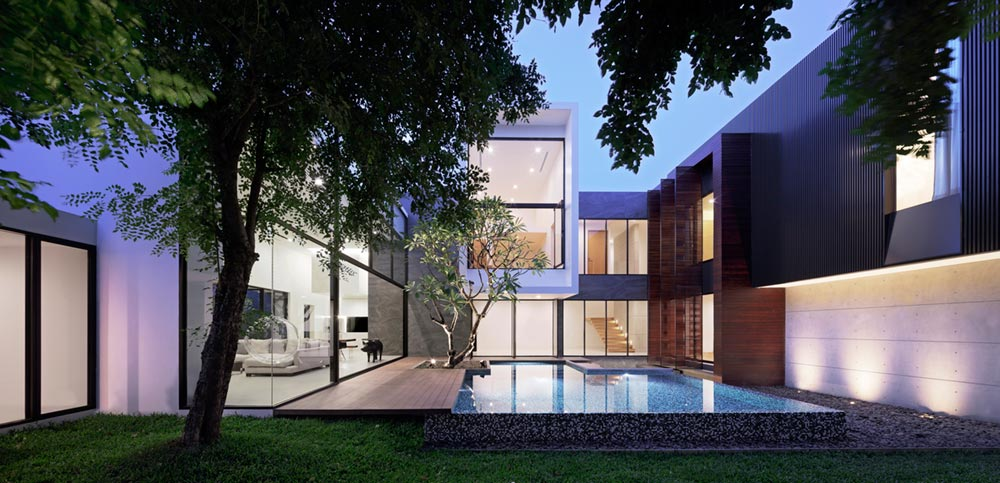 modern architecture thailand aad12 - Lakeside Residence