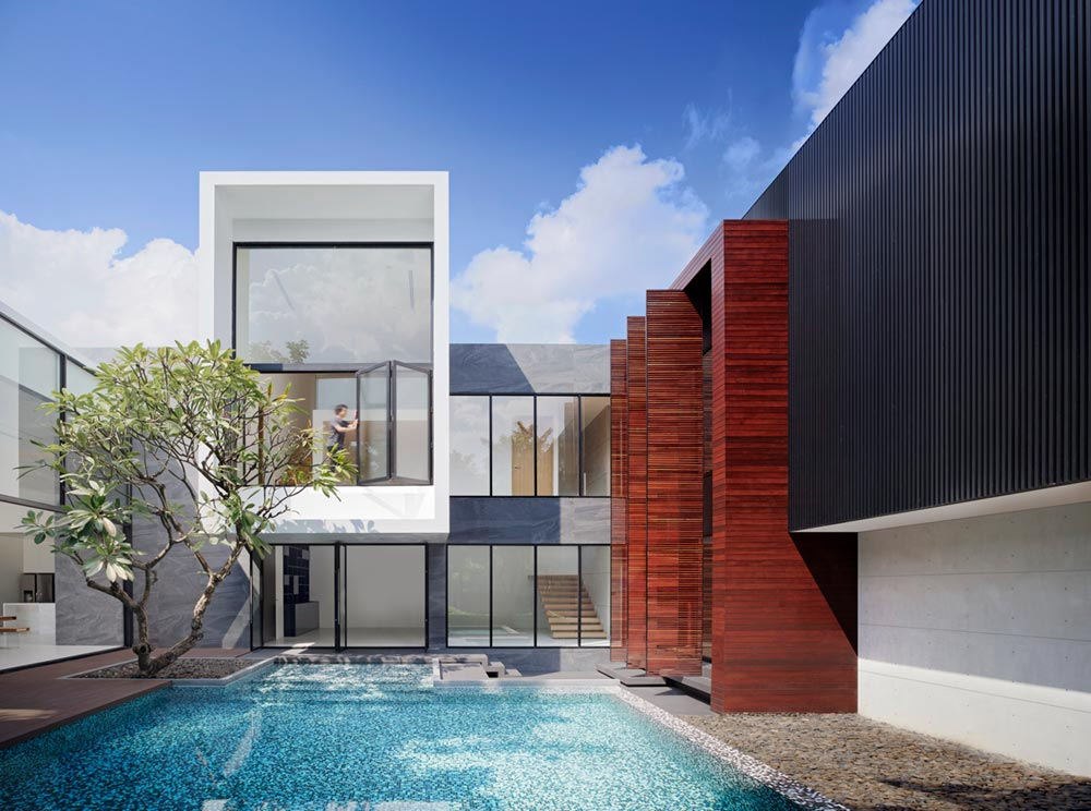 modern architecture thailand aad5 - Lakeside Residence