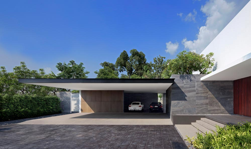 modern architecture thailand aad9 - Lakeside Residence