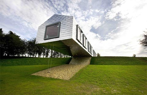 modern house 2020 balancing barn house plunging into nature barn houses