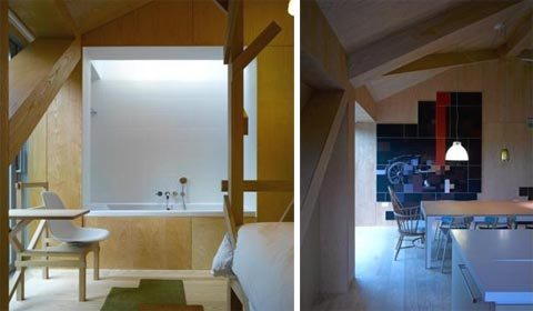 modern barn house balance8 - Balancing Barn House: Plunging Into Nature