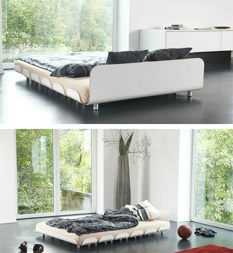 modern bed tiefschlaf 4 - Tiefschlaf Bed: Easy Peasy Style