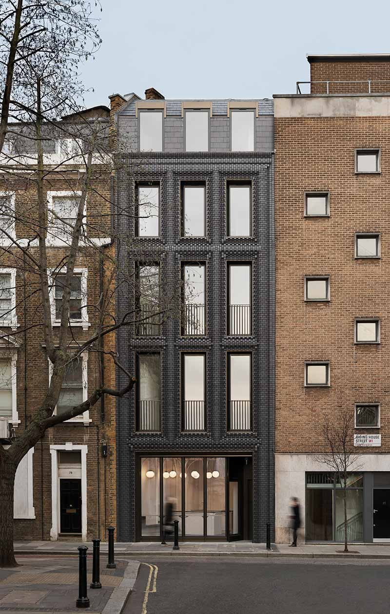 modern brick design exterior bdc - The Interlock