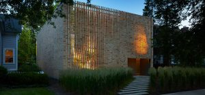 modern brick house design facade bs 300x140 - Thayer Brick House