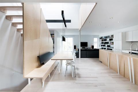 Lajeunesse Residence Renovation Modern And Bright