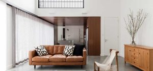modern bungalow living room 300x140 - Sampson House