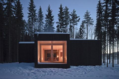 small modern cabin -Finland