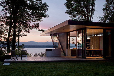 Case Inlet Retreat: Within The Forest - Modern Cabins