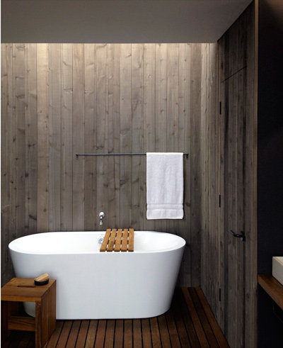 10 beautiful bathrooms to soak up ideas inspiration for Forest bathroom ideas