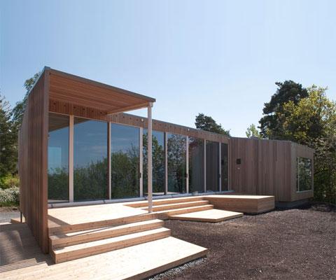 modern cabin retreat rra6 - Summer Retreat: a modern coastal cabin