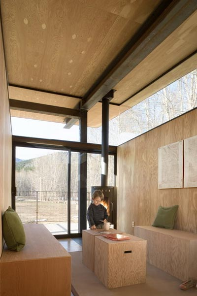 modern cabin rolling hut 5 - The Rolling Huts: The Herd