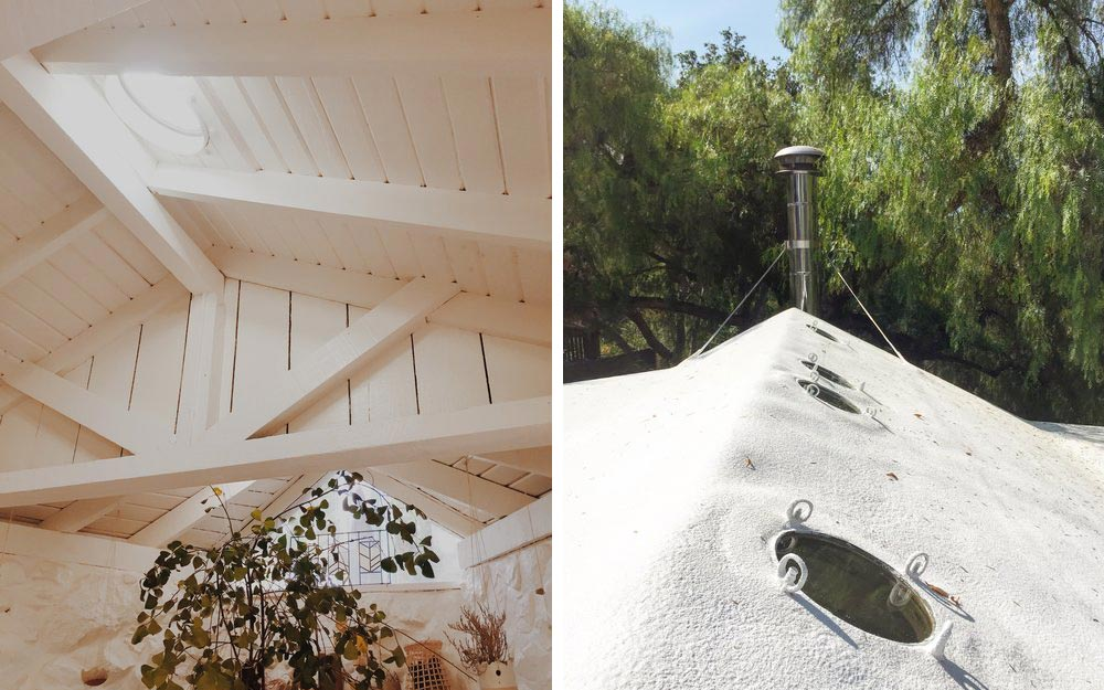 Modern cabin roof design