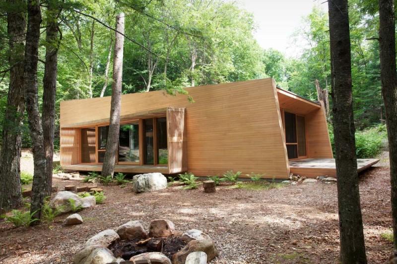 modern cabin yh2 800x533 - La Luge