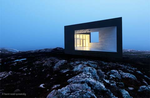 modern cabins fogo 21 - Fogo Island Studios: Isolated Geometry