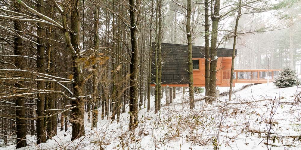 Whitetail Woods Regional Park Camper Cabins