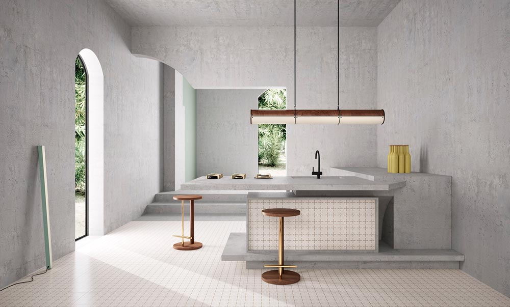 modern ceramic tiles kitchen - House of Tiles
