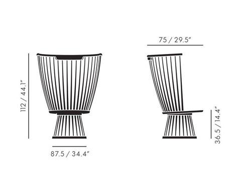 modern chair fan 3 - Fan Chair: a Modernized Past