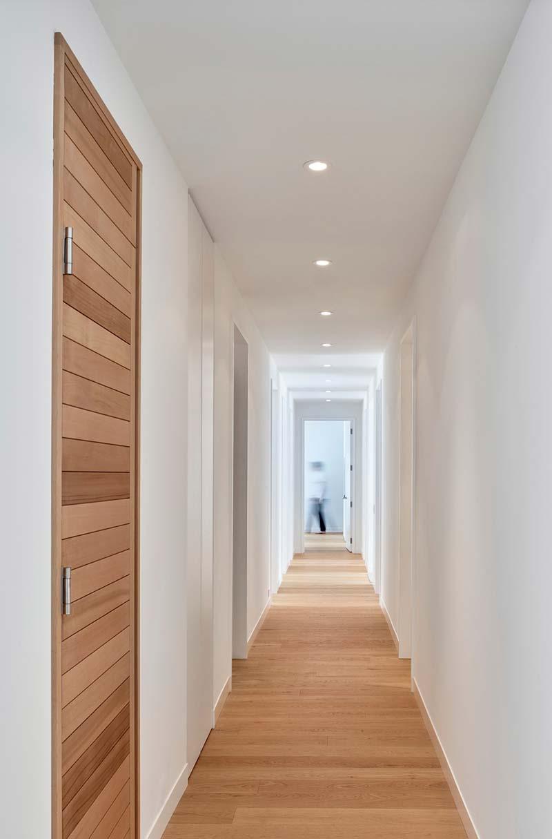 modern chalet design hallway - Alta Chalet